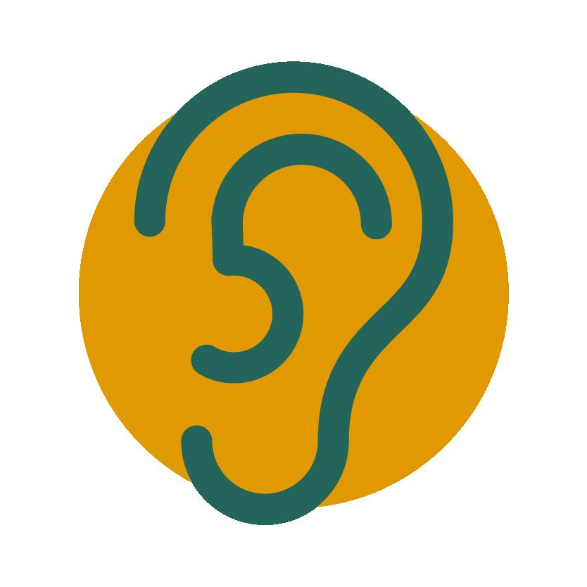 Succes door Energie - Werkwijze - luisterend oor